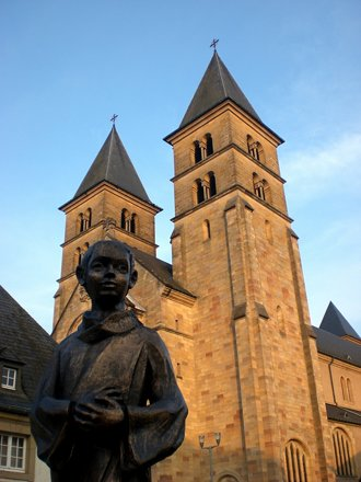 Abbey at Echternach