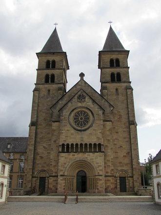 Echternach: Abbaye d'Echternach (Luxembourg)
