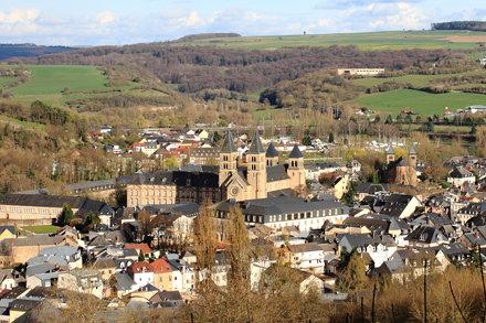 View over Echternach