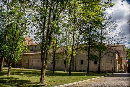 Sesto al Reghena, Abbazia di S.Maria in Sylvis 16.04.2014
