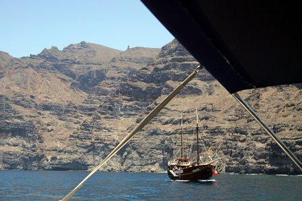 Tenerife - Flipper Uno devant Los Gigantes