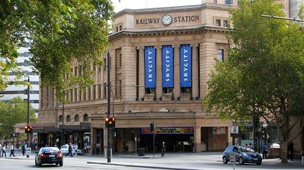 Train Station, now Casino