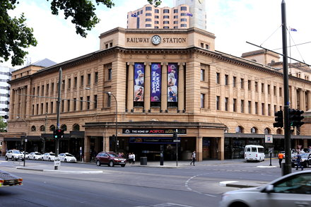 Railway Station, North Terrace, Adelaide