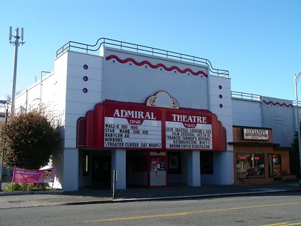 The Admiral Theatre, West Seattle