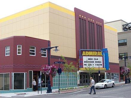 Admiral Theatre repainted