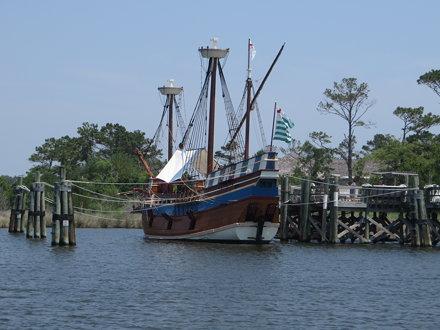 Elizabeth II, Roanoke Island Festival Park, Manteo, North Carolina