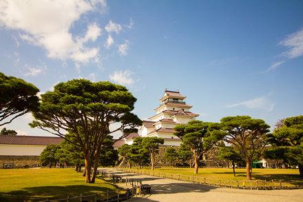 会津若松城 (Aizu-Wakamatsu Castle)
