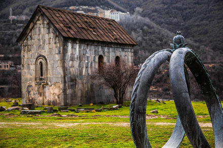 "Akhtala Monastery ""Marriage Rings"""