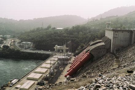 Akosombo Dam, Ghana February 1976