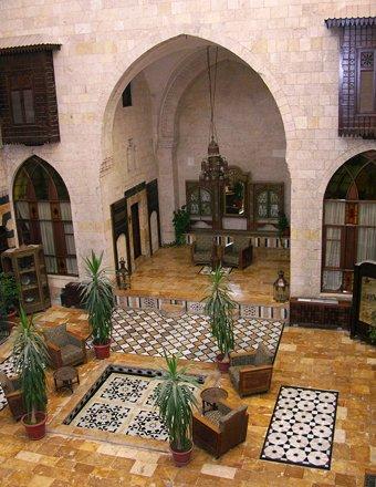 Lobby, Dar Zamaria Hotel, Aleppo, Syria