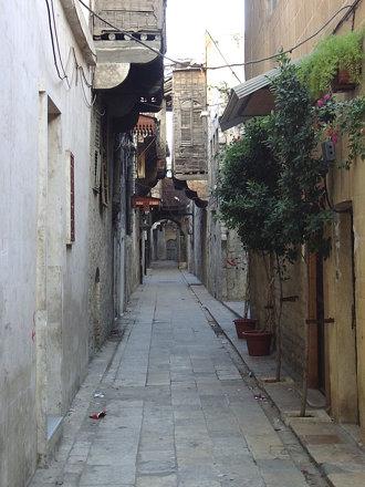 Une ruelle dans le quartier arménien
