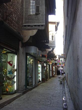 Aleppo (Halab), Gassen im Christlichen Viertel