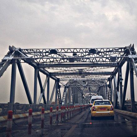 Al Sarafiya #Bridge over the #Tigris #River in #Baghdad, #Iraq   #EverydayBaghdad #RepostIraq