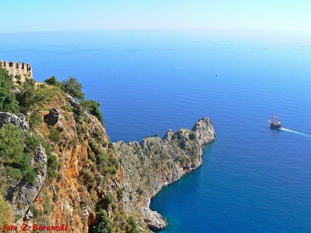 Alanya - view from castle