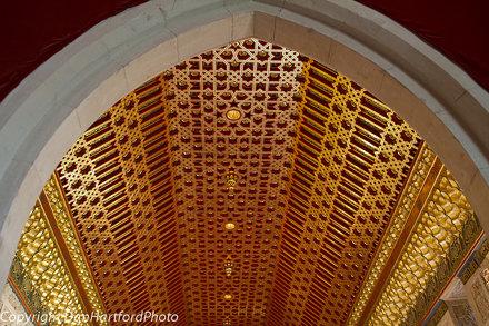 Gold Ceiling, Alcazar, Segovia