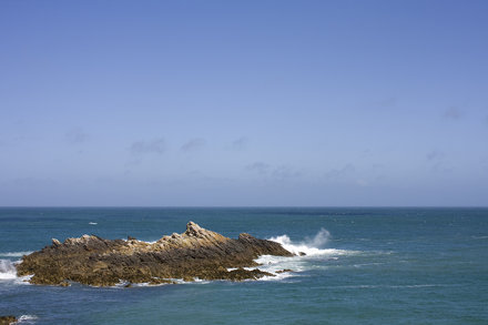 Off Alderney, near Fort Homeaux Florains
