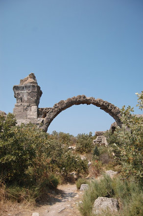 Alexandria Troas - Ruïne thermen