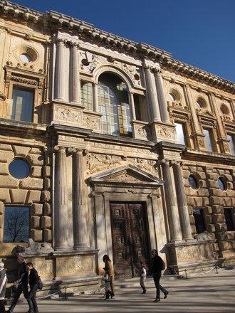 Palacio de Carlos V - Portada de la Emperatriz 2