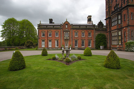Capesthorne Hall courtyard