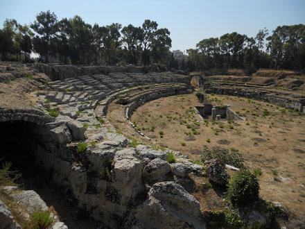 Siracusa, Anfiteatro romano (I sec. d.C.)