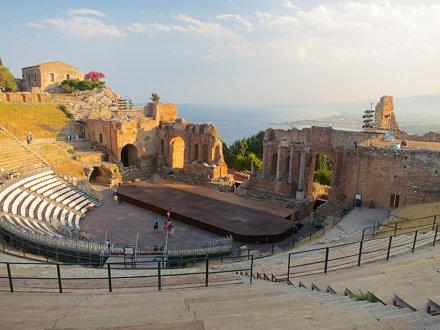 The Teatro Greco