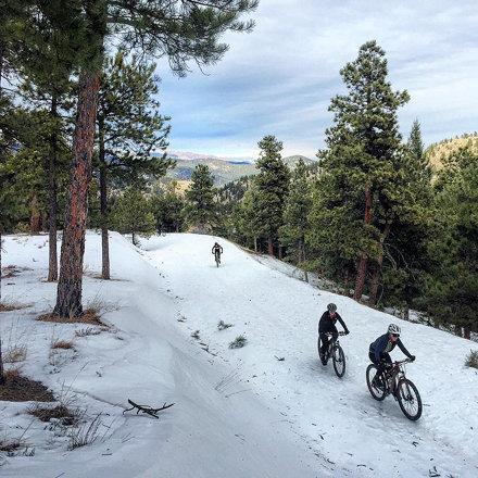 Chapman: year round, different weather, different bikes, always good.