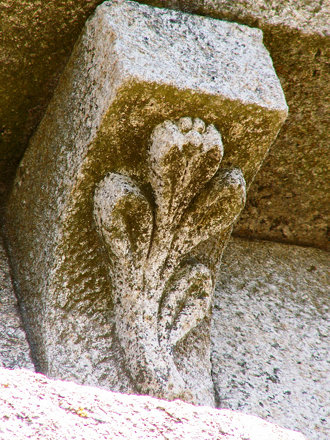 Small details of a romanesque church I