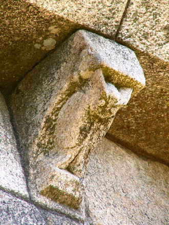 Small details of a romanesque church III