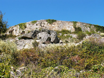 The old walls of Ansiães