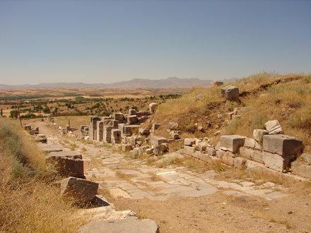 Pisidian Antioch - Cardo Maximus