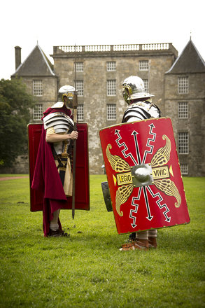 Romans at  Kinneil House