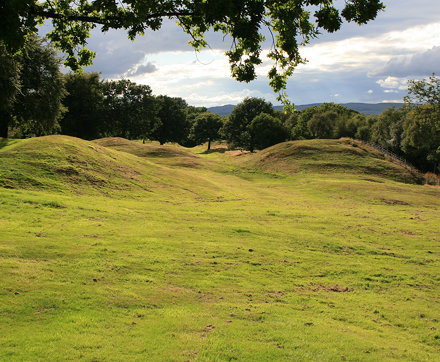Antonine Wall at Rough Castle