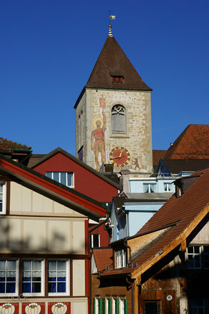 Church Saint Maurice in Appenzell
