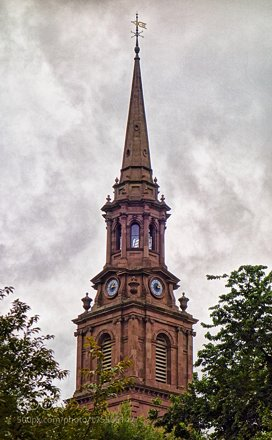 Arlington Street Church Steeple