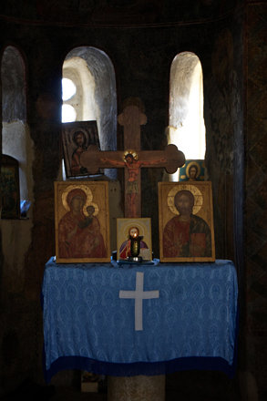 Altar of Holy Theotokos of Petrich Church