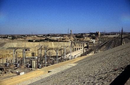 Ägypten 1999 (038) Assuan-Staudamm