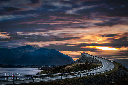 Great Atlantic Road in Norway