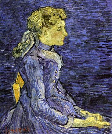 Portrait d'Adeline Ravoux (V van Gogh - F 768 / JH 2035)