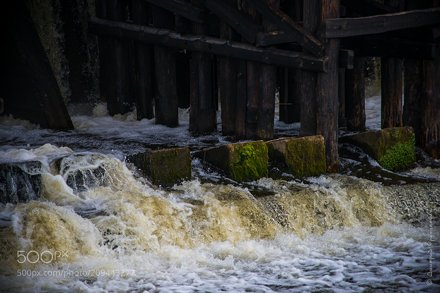 Шлюз-мост Августовского канала