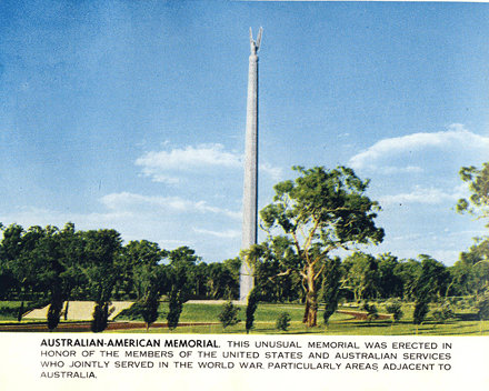 Australian-American Memorial, Canberra, Australia - circa 1960