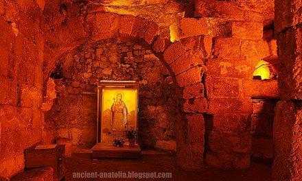 Saint Thecla Ancient Cave Chapel at Seleucia ad Calycadnum