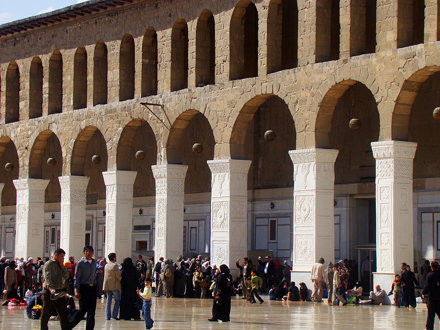 Damascus: Omayyad Mosque