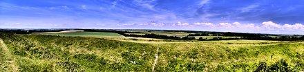 View from Badbury Rings, Dorset
