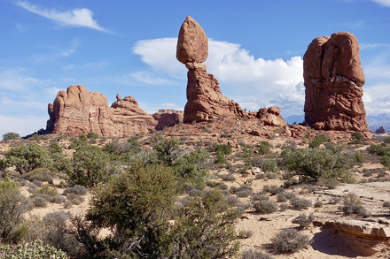 6. Balanced Rock at Arches National Park