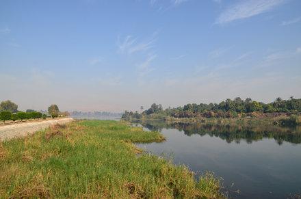 Landscape in Luxor