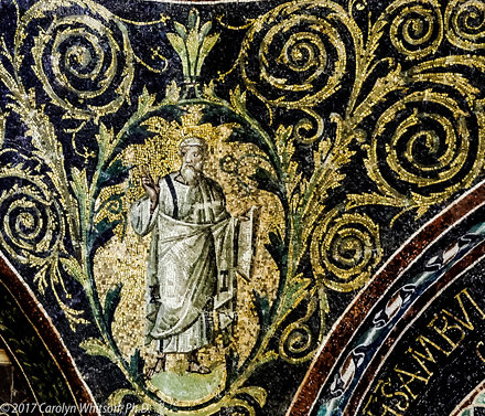 Mosaic in the Baptistry of Neon, Ravenna