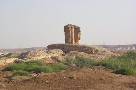 Byzantine Corner Tower At Meskene (ancient Barbalissos)