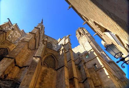 La Catedral de la Santa Cruz y Santa Eulalia, Barcelona