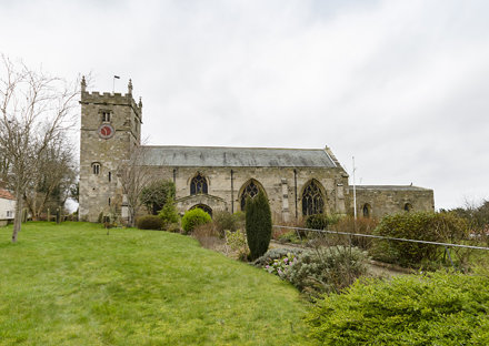Hunmanby, All Saints' church