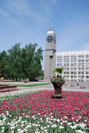 Krasnoyarsk Big Ben